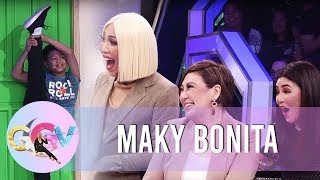Viral kid Maky impresses Sharon and Regine with his talent | GGV