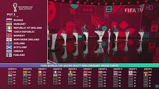 Сборная России по футболу узнала своих соперников по отборочному этапу ЧМ 2022 года в Катаре