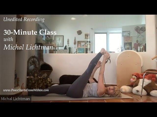 new you 💫לנאמני היוגה🤸✨🧚 סרטון הסבר עם כיסא ללימוד תנוחת ר הפוכה