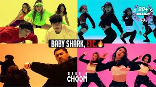 DANCE CHALLENGE | Baby Shark, Switch it up, Taki Taki, Level up  [Dance the X]