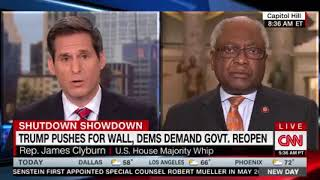 Majority Whip Clyburn Interview with CNN New Day (1.9.19)