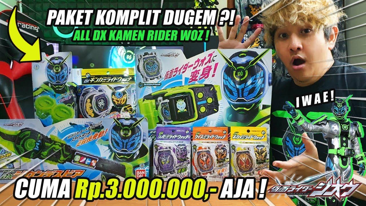 LENGKAP!!! REVIEW + RECAP SEMUA DX PUNYA KAMEN RIDER WOZ YUK ! 3 JUTA AJA ?! [Kamen Rider Zi-O]