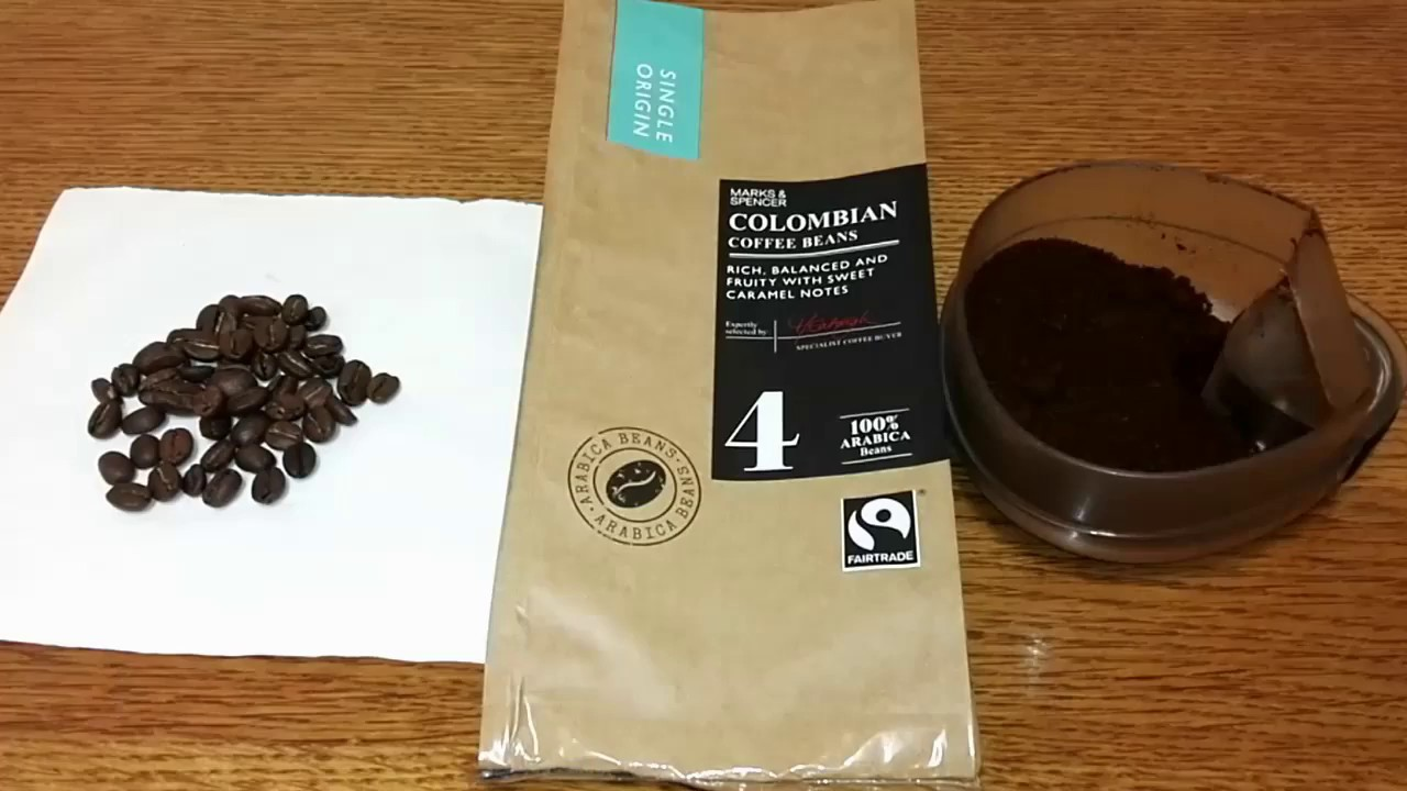 Marks Spencer Colombian Coffee Beans Review Youtube