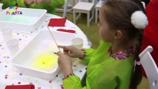 Дети рисуют на воде!(Ребята устроили мастер-класс по рисованию на воде! они объяснили как это делать? что самое трудное? хотелос..., 2014-06-24T18:11:25.000Z)