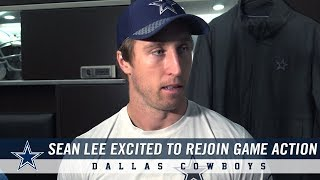 Sean Lee Excited to Return to Dallas Cowboys Game Action | Dallas Cowboys 2018