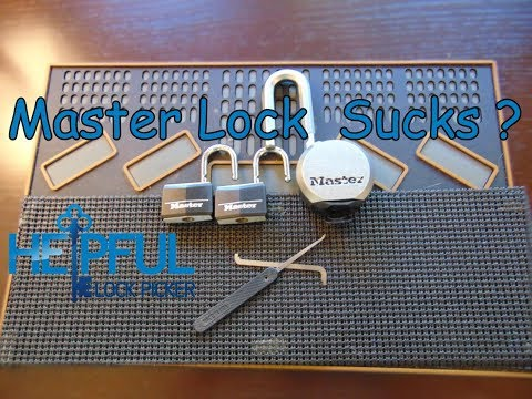 [85] Do Master Locks Suck?