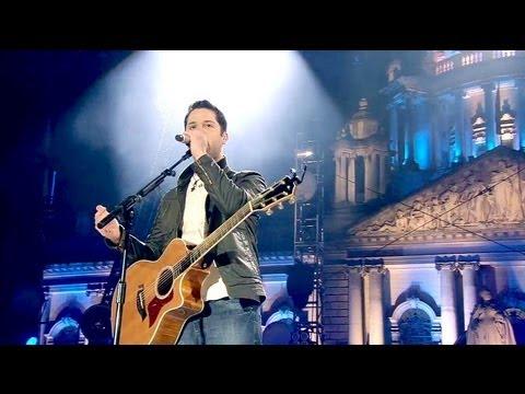 Boyce Avenue - On My Way (Original Song) - Live at the MTV EMAs Belfast 2011