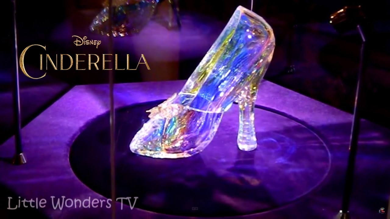 8855d357e Cinderella Glass Slippers - These are Cinderella's Real Glass Slippers