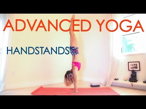 Advanced Yoga Week Two: All About Handstands!