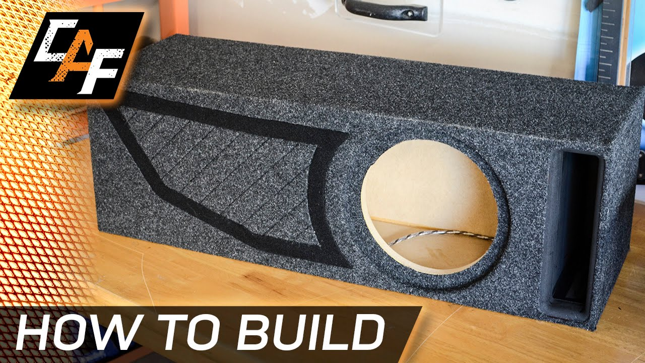 How To Build A Sub Box >> How To Building A Ported Subwoofer Box Caraudiofabrication