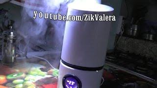 Посылка. Увлажнитель воздуха, бытовой с ароматизатором, тест, обзор