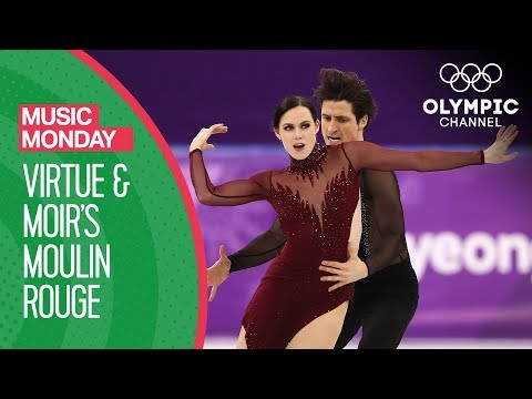 Tessa Virtue and Scott Moir\'s Moulin Rouge at PyeongChang 2018 | Music Mondays