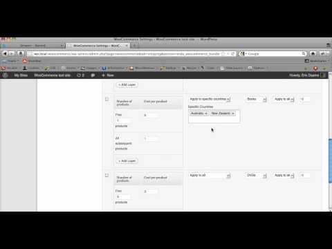 How to set up bundle rate shipping for WooCommerce