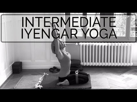 Iyengar Yoga Teacher Training Practice. Advanced Intermediate. 63 min. CdR. OYT #iyengaryoga
