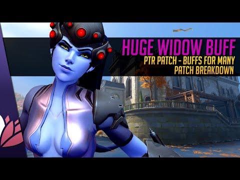 Overwatch: HUGE WIDOW BUFF - PTR Patch Breakdown