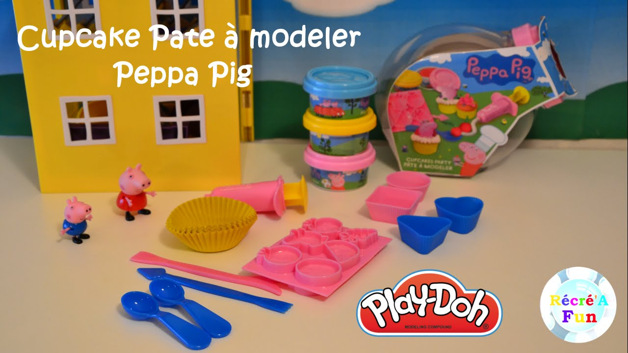 cupcake peppa pig pate modeler peppa pig cupcake. Black Bedroom Furniture Sets. Home Design Ideas