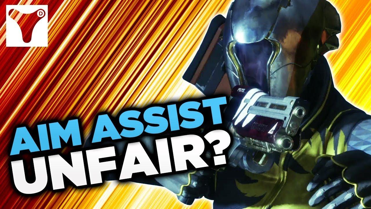 Is Aim Assist On Destiny 2 PC UNFAIR!?