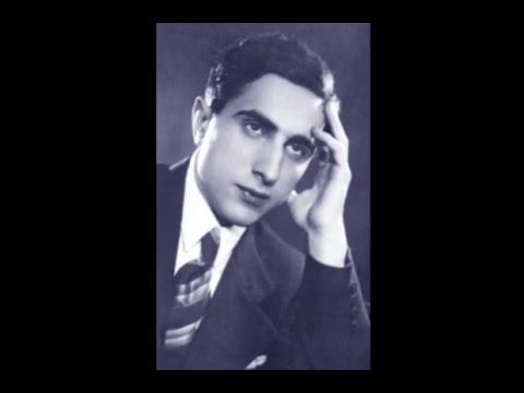 Yakov Flier plays Tchaikovsky Seasons - June: Barcarolle - 1940