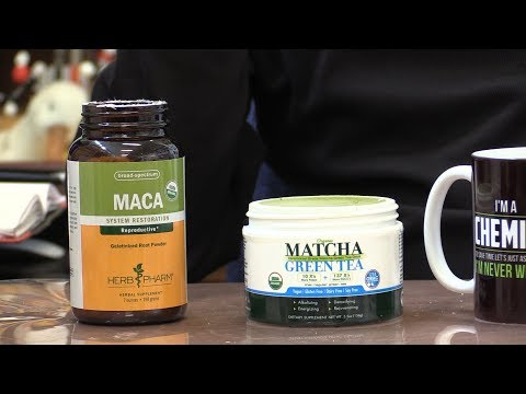 The Right Chemistry: Exploring matcha tea and maca root