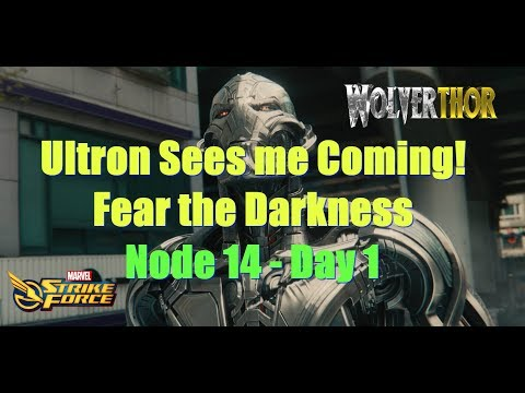 Fear the Darkness - Node 14 Day 1 See how to get thru the tough nodes
