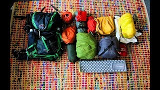 My Lightweight backpacking Kit For Multi Day Hiking (Coast to Coast)