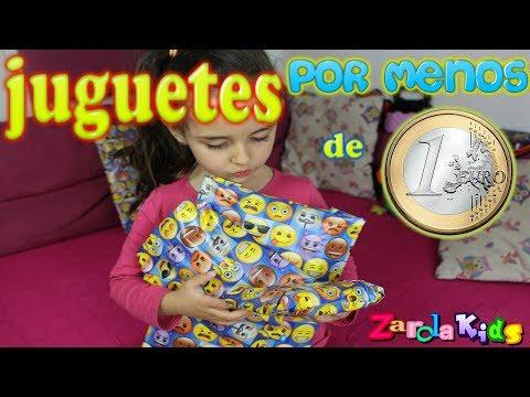 REGALOS POR MENOS DE 1 EURO !! Zarola kids Juguetes 1€ DOS