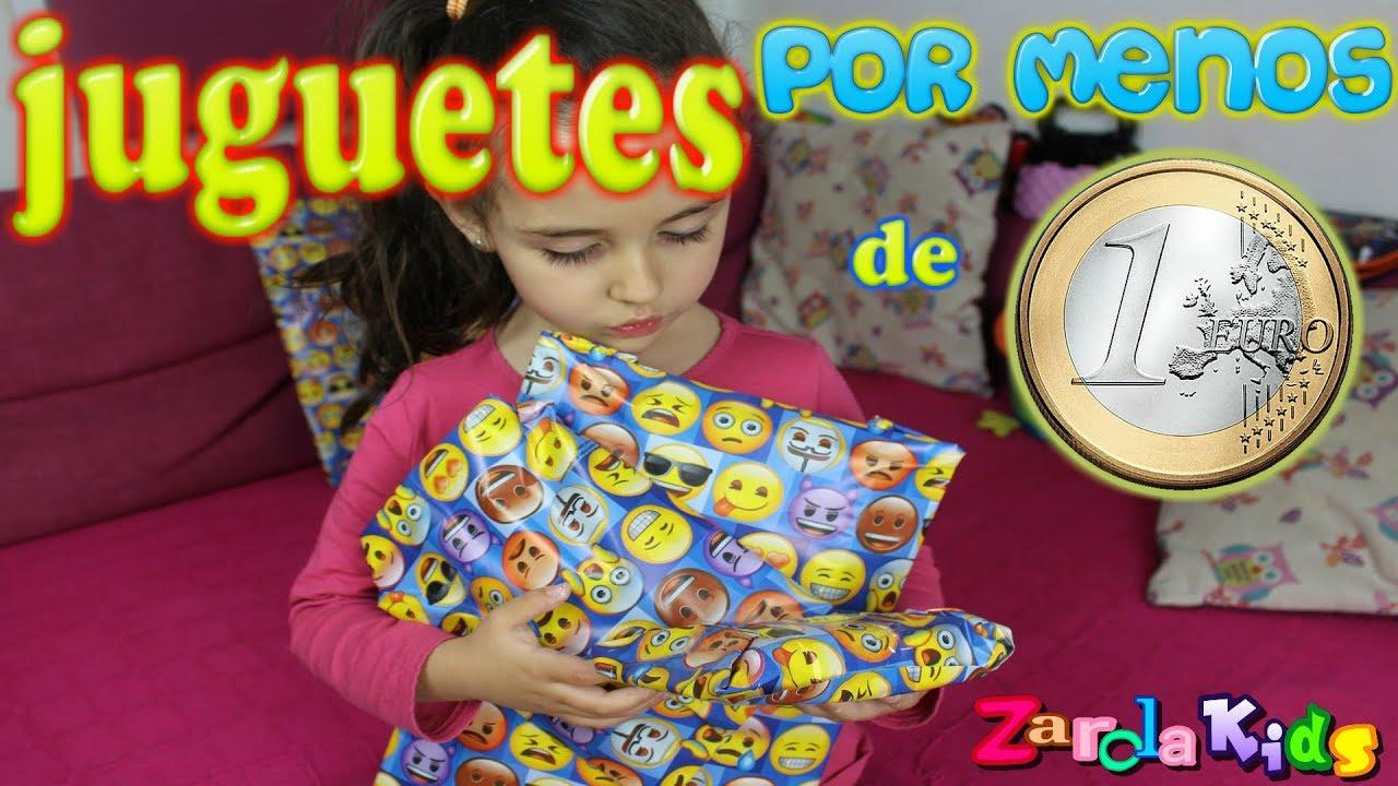 Por 1€ Menos Kids Dos 1 EuroZarola Regalos De Juguetes 0wm8vNnO
