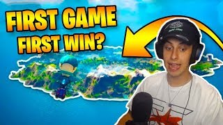 FIRST EVER FORTNITE CHAPTER 2 WIN?!