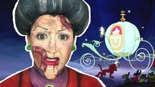TRAMPLED CINDERELLA'S EVIL STEPMOTHER MAKEUP TUTORIAL!