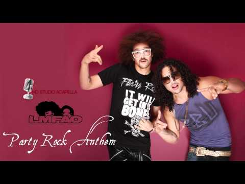 LMFAO ft Lauren Bennett & Goonrock - Party Rock Anthem (Studio acapella) + Download (HD)