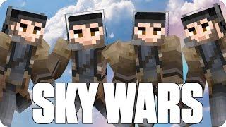 ¡EL ÉPICO TEAM DE CUATRO! Sky Wars | Minecraft