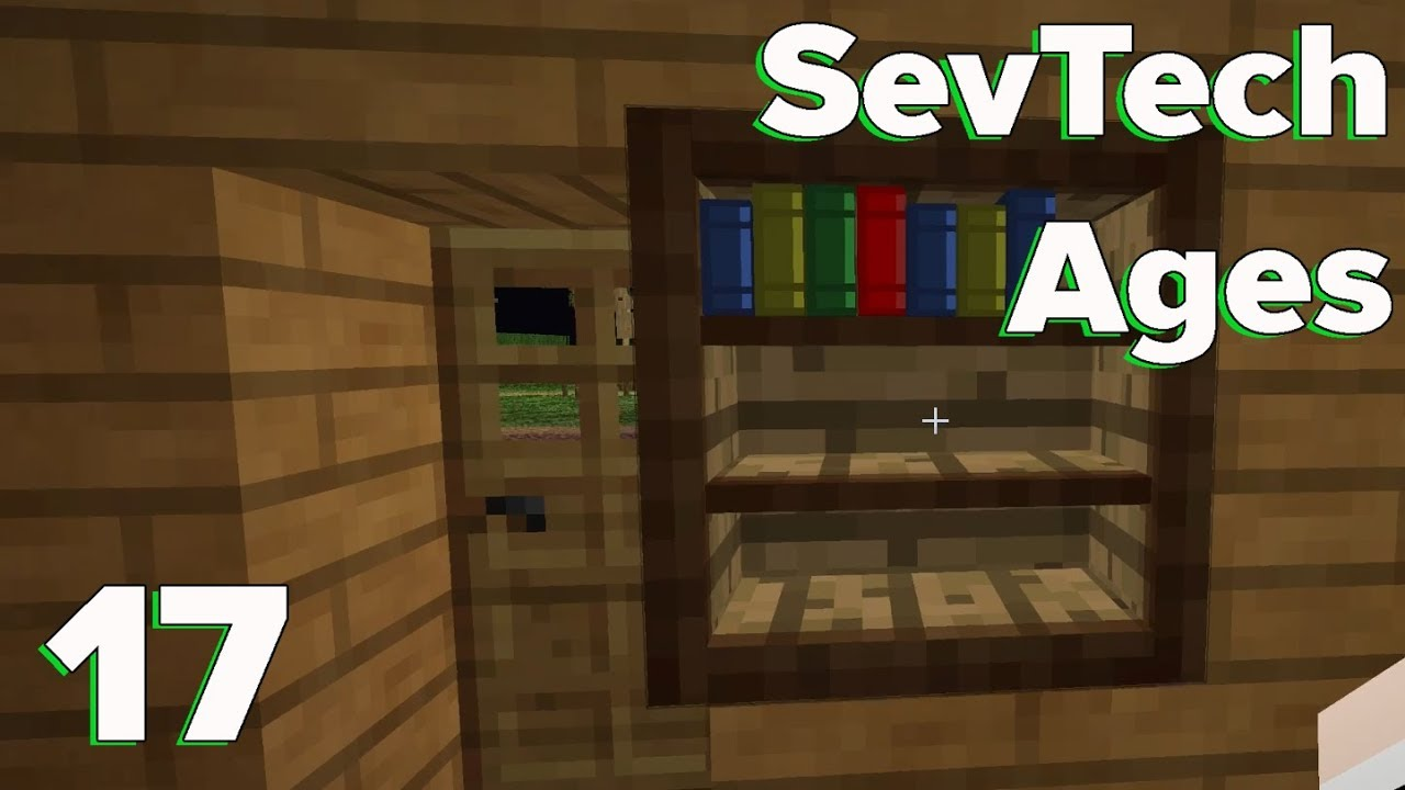Drawers, Shelves, and Tinkers' Tables | SevTech: Ages | E17