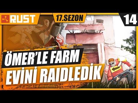 ÖMER İLE FARM EVLERİNE RAID ATTIK ! RUST HAYATTA KALMA #14