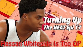 Nba 2k17 mygm | fighting for a playoff spot | whiteside is too op