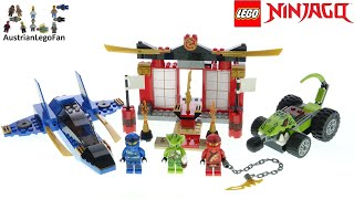 LEGO Ninjago 71703 Storm Fighter Battle   Lego Speed Build Review