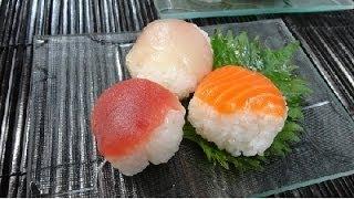 How to make Temari zushi(Recipe)手まり寿司の作り方(レシピ)
