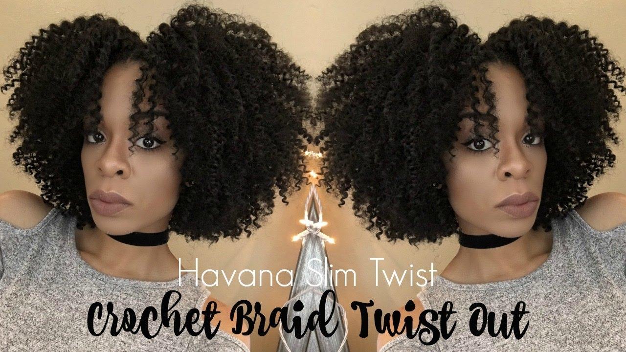 Crochet Braid Twist Out Youtube