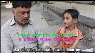 New children very sad Diwali status