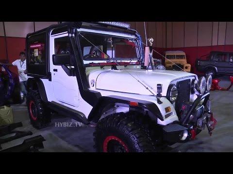 Modified Car At Hyderabad International Auto Show 2015 - Hybiz.tv