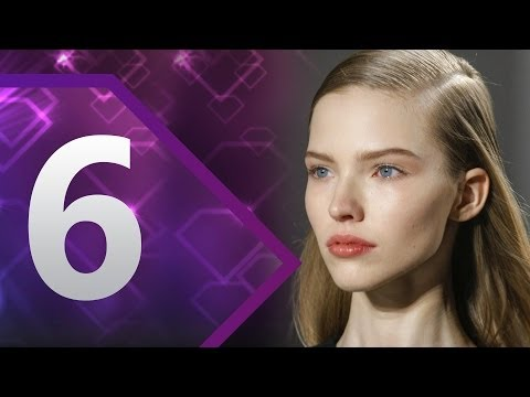 First Face - #6 Sasha Luss Spring/Summer 2014 | FashionTV