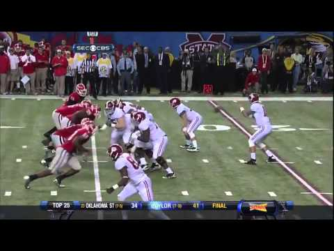 2012 SEC Championship Game - #2 Alabama vs. #3 Georgia