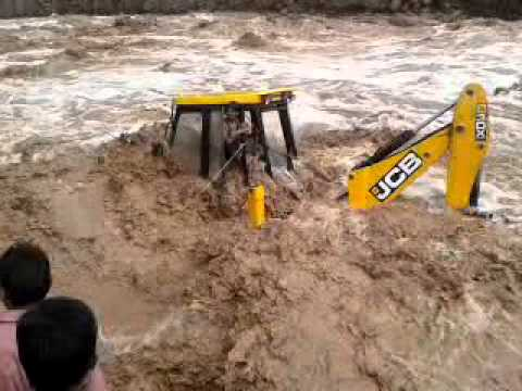 One person save in flood