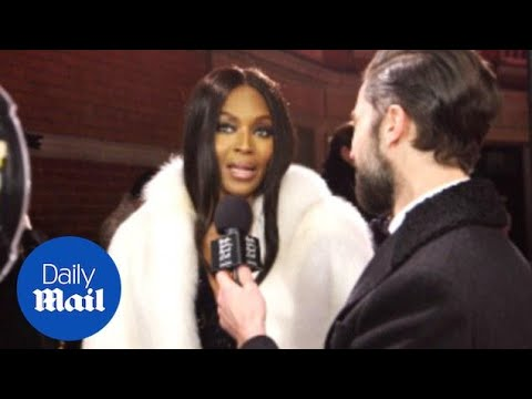 Archive: Naomi praises W Magazine style director Edward Enninful - Daily Mail