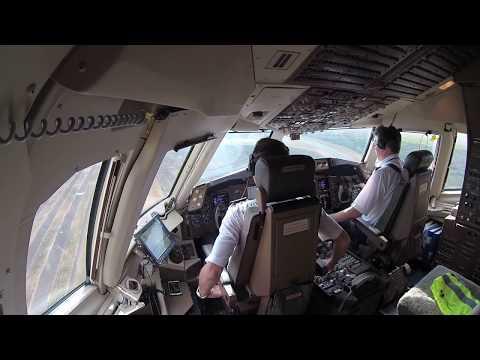 Посадка 767 в