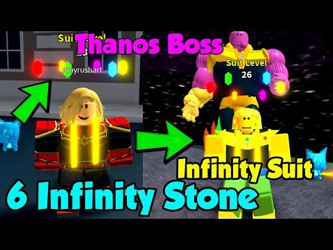 i-collected-all-6-infinity-stones!-unlocked-infinity-suit!-800-million-damage!---superhero-simulator
