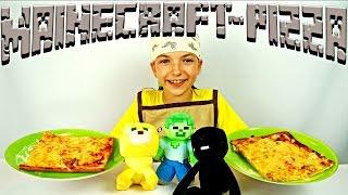 Учимся готовить Майнкрафт пиццу! Мастер класс