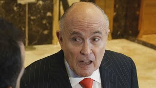 White House in damage control over Rudy Giuliani comments