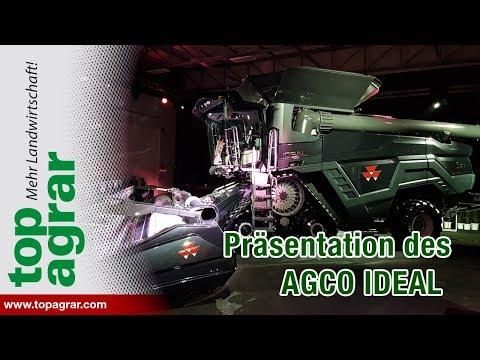 AGCO präsentiert neue Großmähdrescher IDEAL 7, 8 und 9 in Breganze