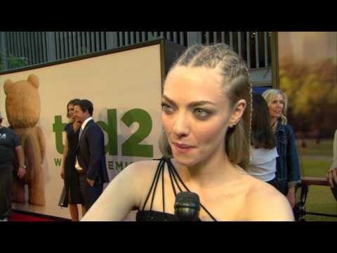 Ted 2: Amanda Seyfried Red Carpet Movie Premiere Interview