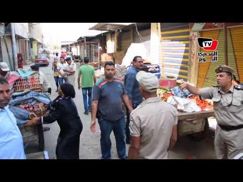 حملة أمنية مكبرة لإزالة الباعة الجائلين بـ«الدقهلية»  - 15:22-2017 / 9 / 14